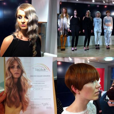 natalie at Wella Studios